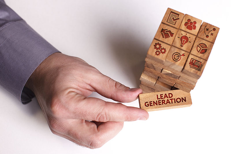 Lead generation, marketing funnel and selling strategy vector illustration.
