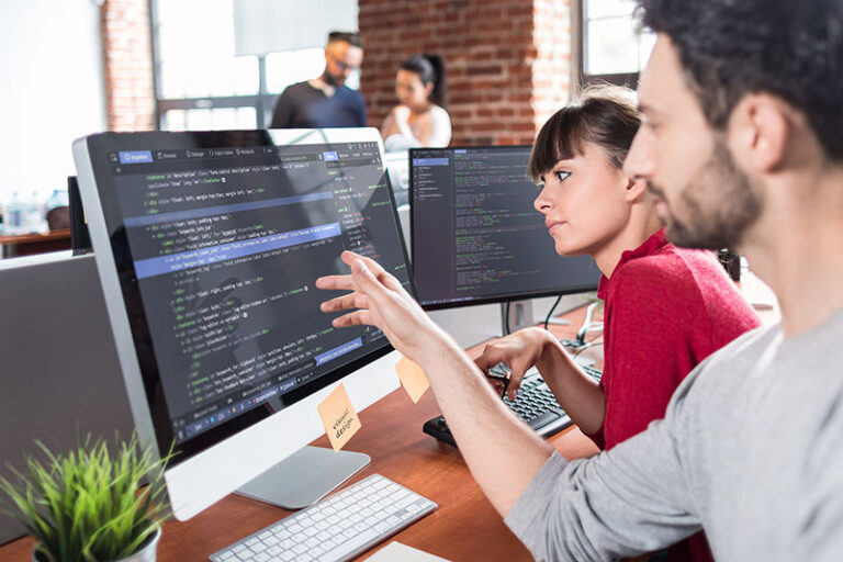 Developing programming and coding technologies.